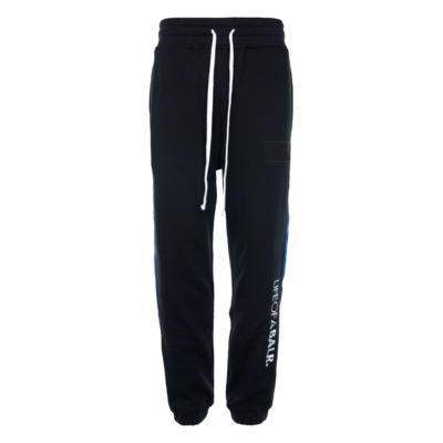 LOAB Contrast Slim Sweatpants Zwart