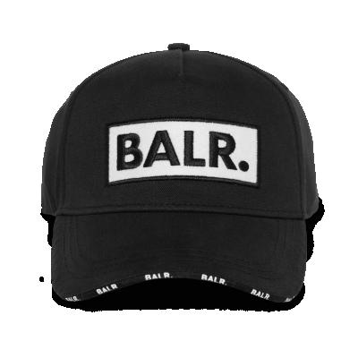 Classic Felt Box Logo Cap Black