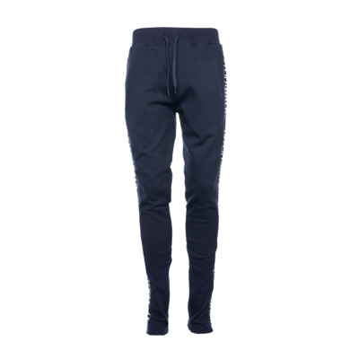 LIFEOFABALR. Tape Sweatpants Marineblauw