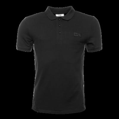Gun Metal Badge Polo Shirt Black