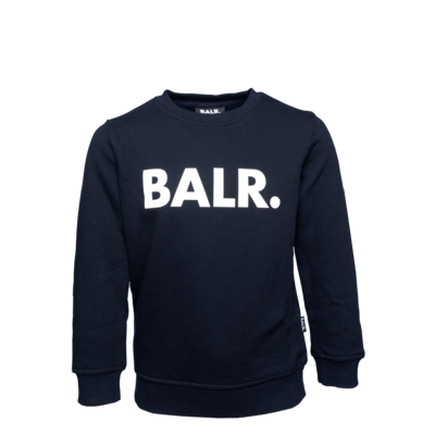 Brand Crew Neck Sweater Kids Navy