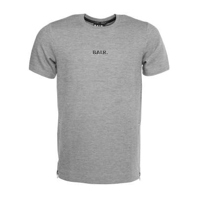 Q-Series Short Sleeve Sweater Grey