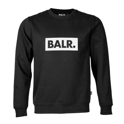 Club Crew Neck Sweater zwart