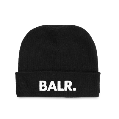 Embroidered Beanie Black