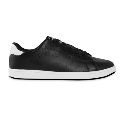 LOAB Perforated Leather Sneakers Black