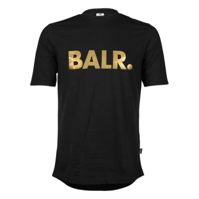 Brand T-Shirt Zwart And Gold