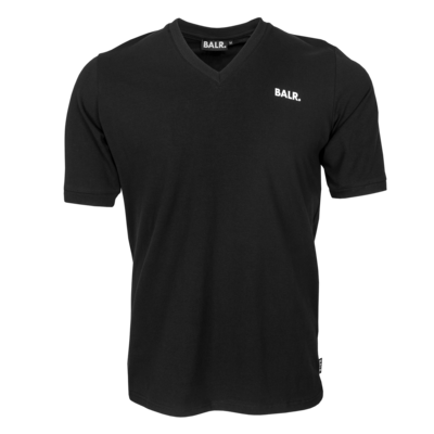 BALR. classic v-neck athletic t-shirt Black