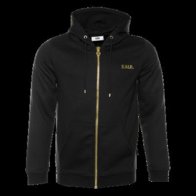 Q-Series Zipped Hoodie Black/Gold