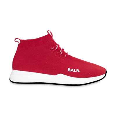 (BALR.)RED EE Premium Sock Sneakers V2 rood