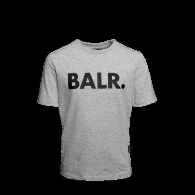 Brand T-Shirt Kids Grey
