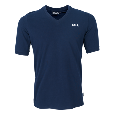 BALR. classic v-neck athletic t-shirt Navy