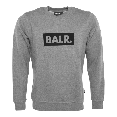 Club Crew Neck Sweater Grey