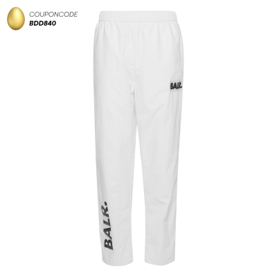 Rubber Logo Trackpants White