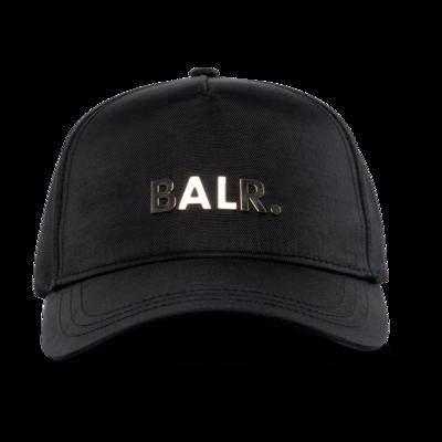 Brand Gold Metal Logo Cap Black/Gold