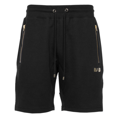 Q-Series Sweat Shorts Renewed Black/Gold