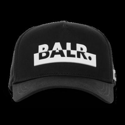 Contrasting logo cap Black