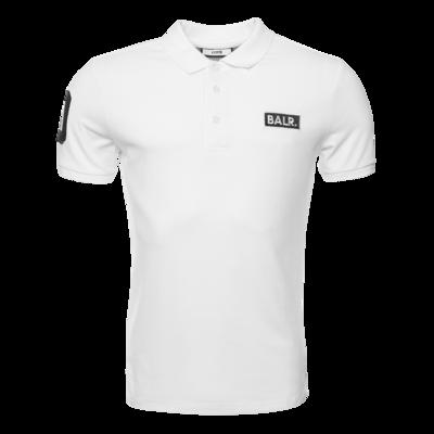 BALR. Club 10 Polo Shirt Wit
