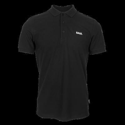 BALR. classic straight polo Black