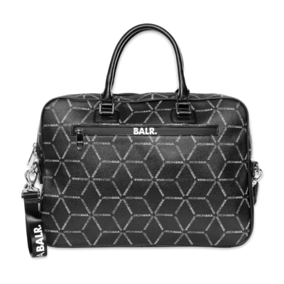 LOAB All-Over Print Briefcase Schwarz