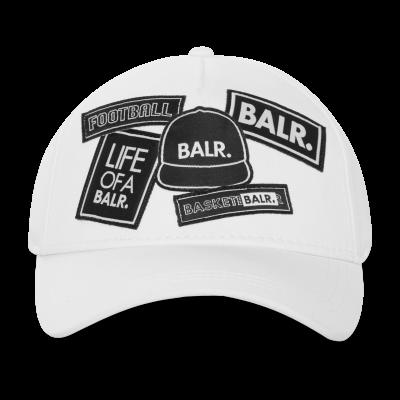 BALR. Badge Cap Wit