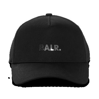 Classic Metal Logo Cap Black