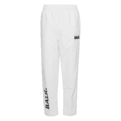 Rubber Logo Trackpants White