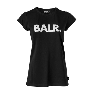 Women Brand T-Shirt Zwart