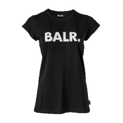 Women Brand T-Shirt Zwart