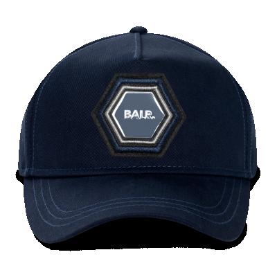 Q-Series Metal Hexagon Badge Cap Marineblauw