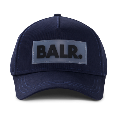 Rubber Box Logo Cap Navy
