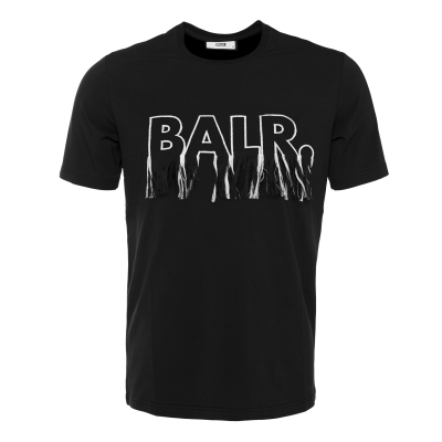 Black Label - BALR. Fringe T-Shirt Black
