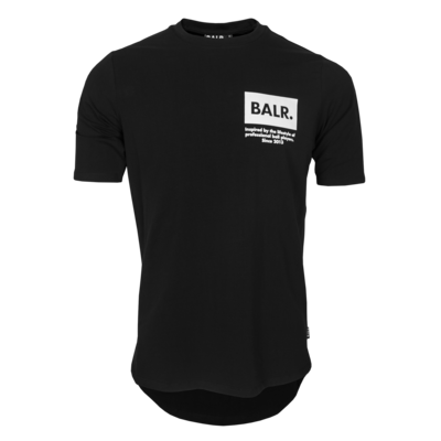 BALR. inspired by logo athletic t-shirt Black