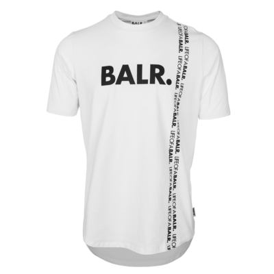 BALR. vertical LOAB athletic t-shirt  White