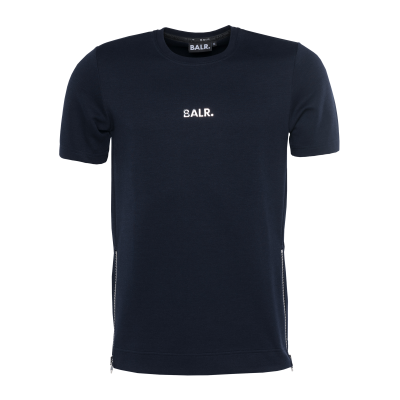 Q-series Short Sleeve Sweater Navy