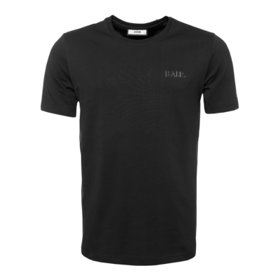 Black Label - Navy Logo T-Shirt Black