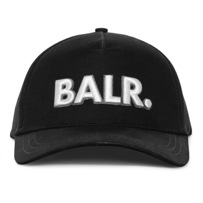 BALR. Big Logo Cap Schwarz
