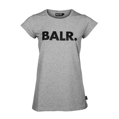 Women Brand T-Shirt Grijs
