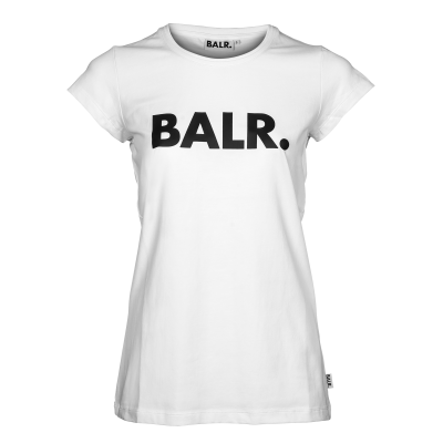 Women Brand T-Shirt Weiß