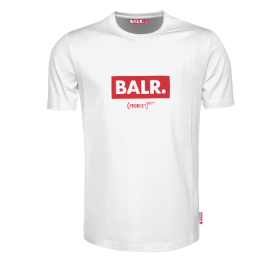 (BALR.)RED Club T-shirt wit
