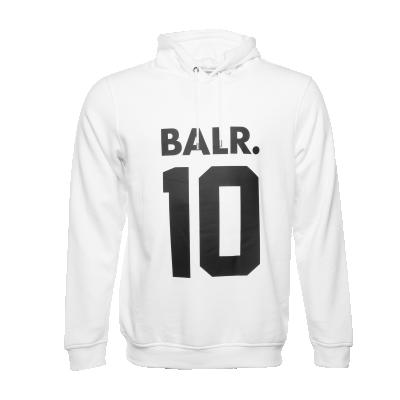 BALR. 10 Hoodie White