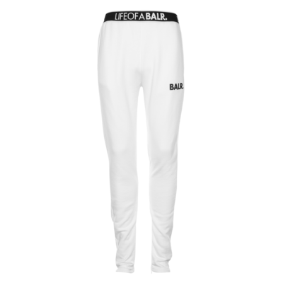 LOAB Lounge Straight Sweatpants White