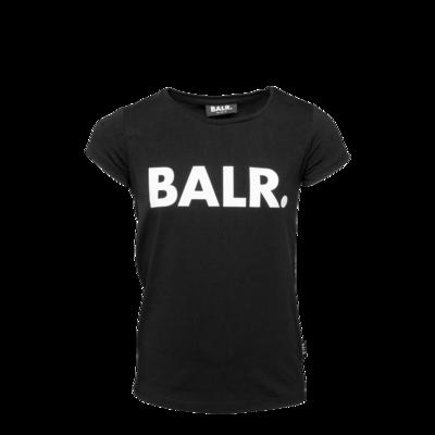 Brand Logo T-Shirt Girls Black
