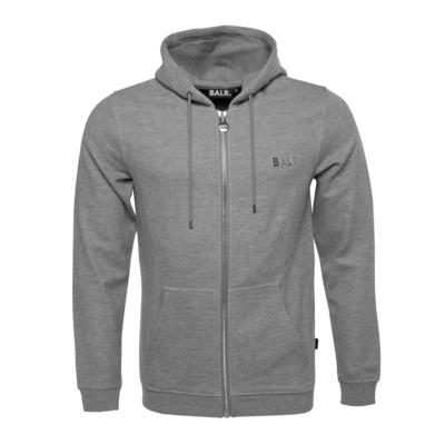 Q-Series Zipped Hoodie Dark Grey