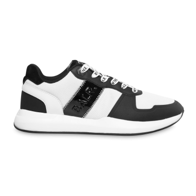 Solid Street Sneakers White/Black