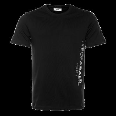 CC BALR. Straight T-Shirt Zwart