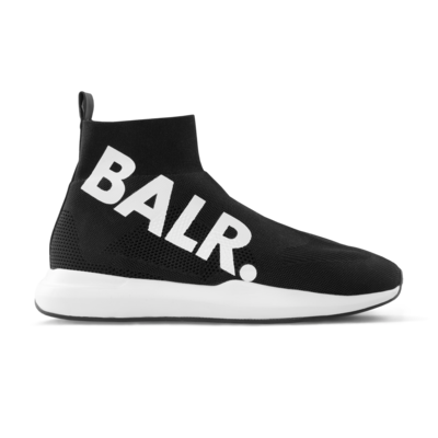 EE Premium Sock Sneakers Big Brand Zwart