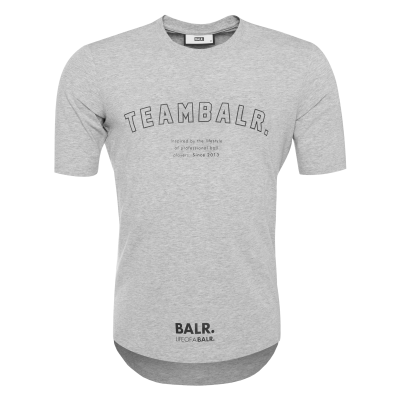 Team BALR. T-Shirt Grijs