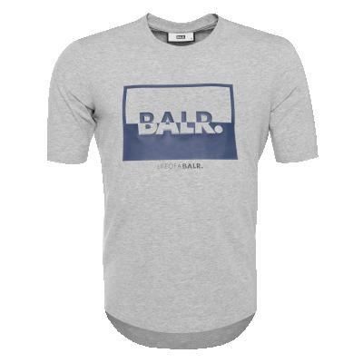 Contrasting Logo T-Shirt Grey
