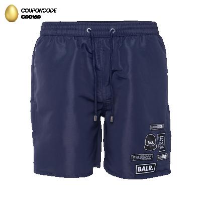 BALR. Badge Swim Shorts Navy