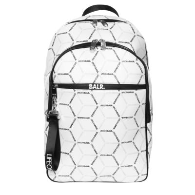 LOAB All-Over Print backpack White